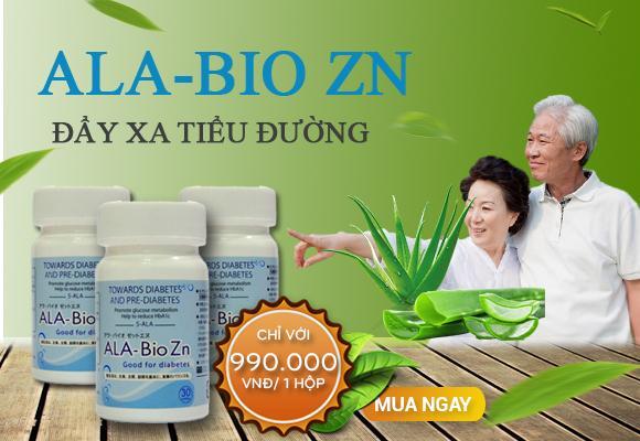 Ala Bio Zn - Đẩy Xa Bệnh Tiểu Đường!