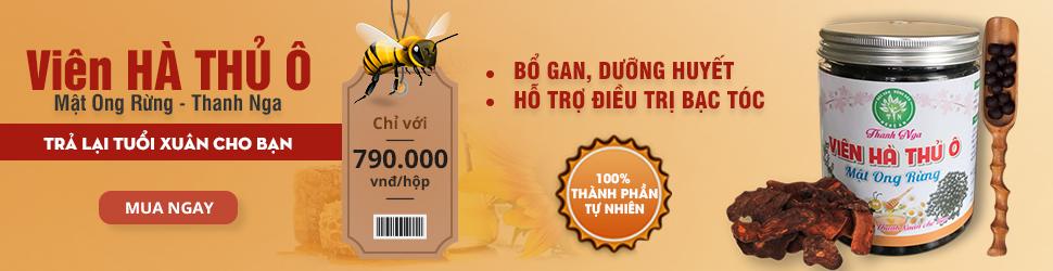 mật ong rừng hạ thủ ô