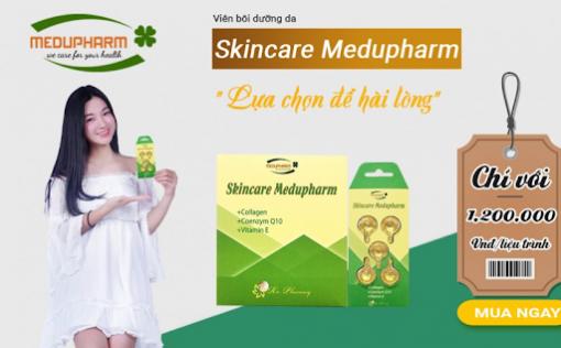 Skincare Medupharm – Viên Bôi Dưỡng Da!