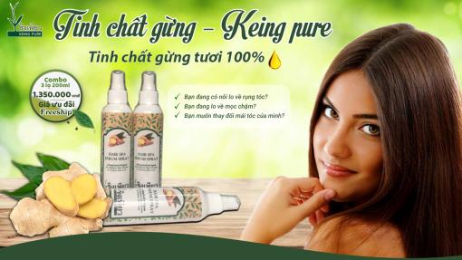 Keing Pure - Sản phẩm dưỡng tóc - mọc tóc