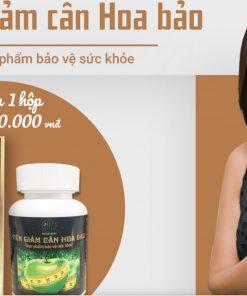 viên giảm cân hoa bảo