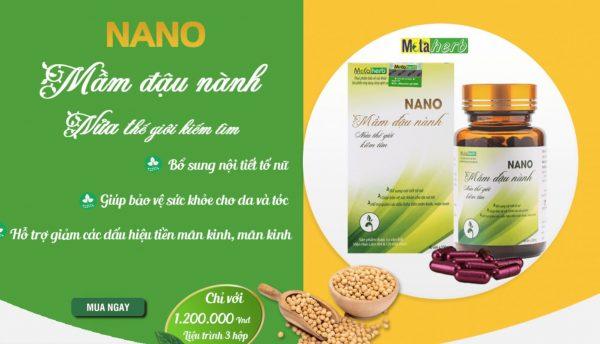 nano mầm đậu nành