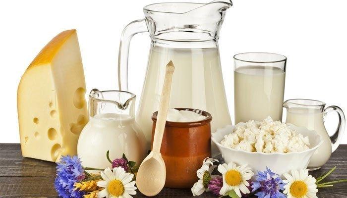 thực phẩm làm từ sữa