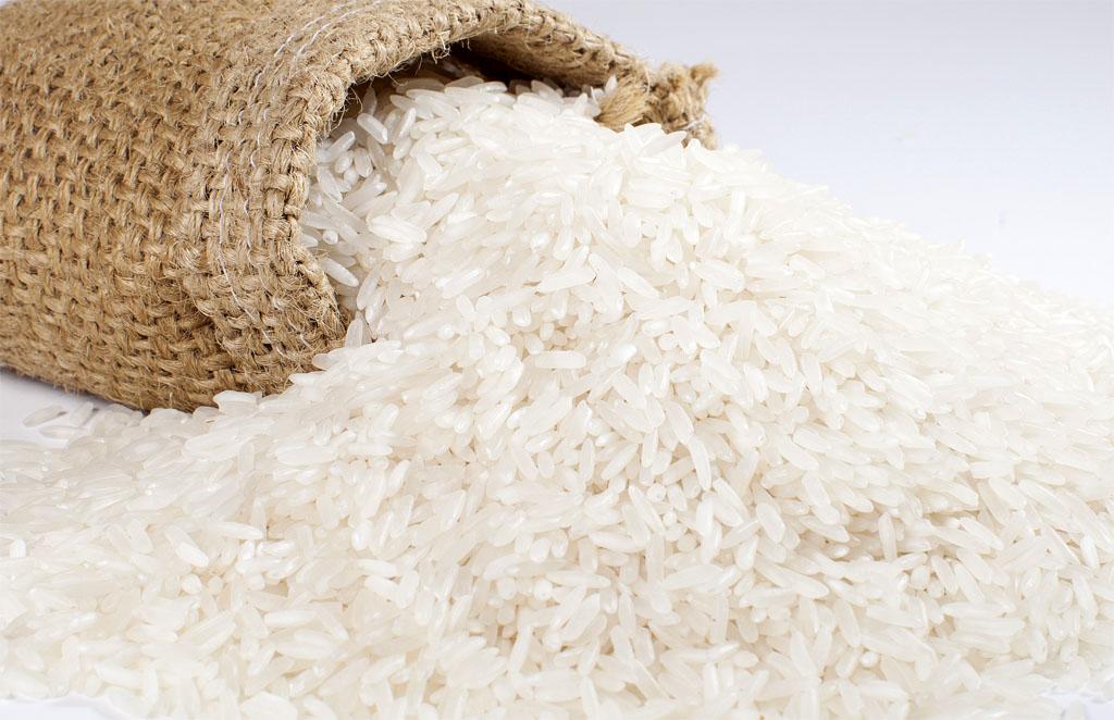 cơm gạo trắng