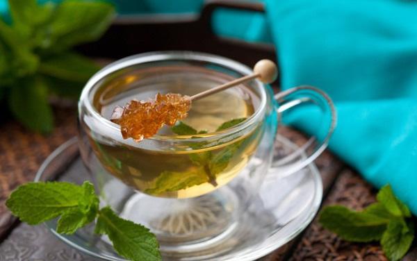 mật ong lá trà xanh