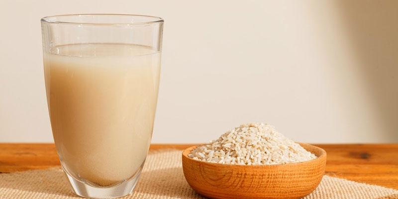 nước bột gạo lức