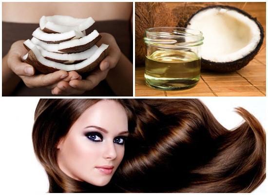 cách làm đẹp tóc bằng dầu dừa