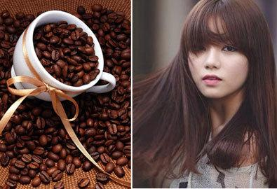 cách làm đẹp tóc bằng cafe