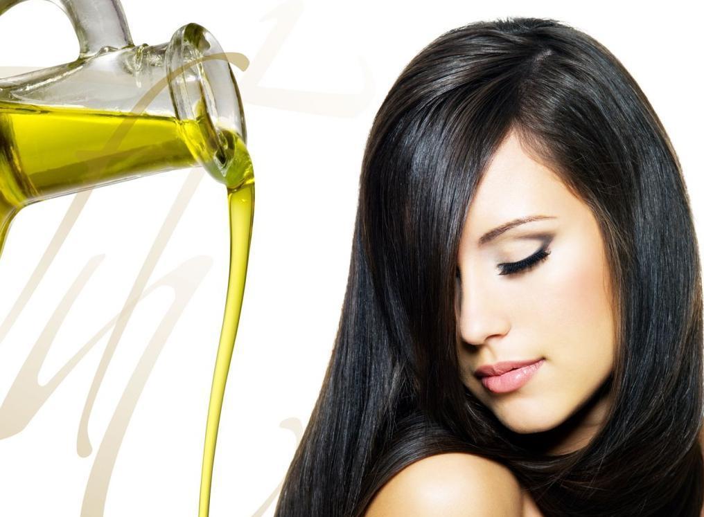làm đẹp tóc bằng dầu oliu