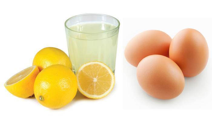 làm đẹp tóc với trứng gà
