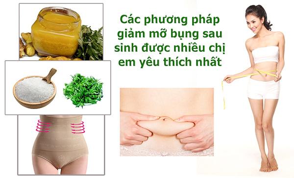 giảm mở bụng sau sinh