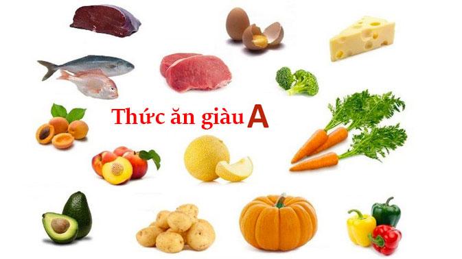 thuc-an-giau-vitamin-a